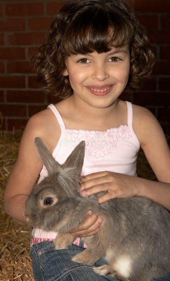De liefde van het konijn royalty-vrije stock afbeelding