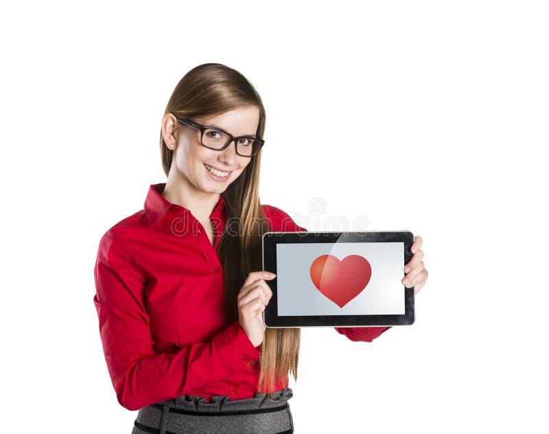 De liefde van Internet royalty-vrije stock foto's