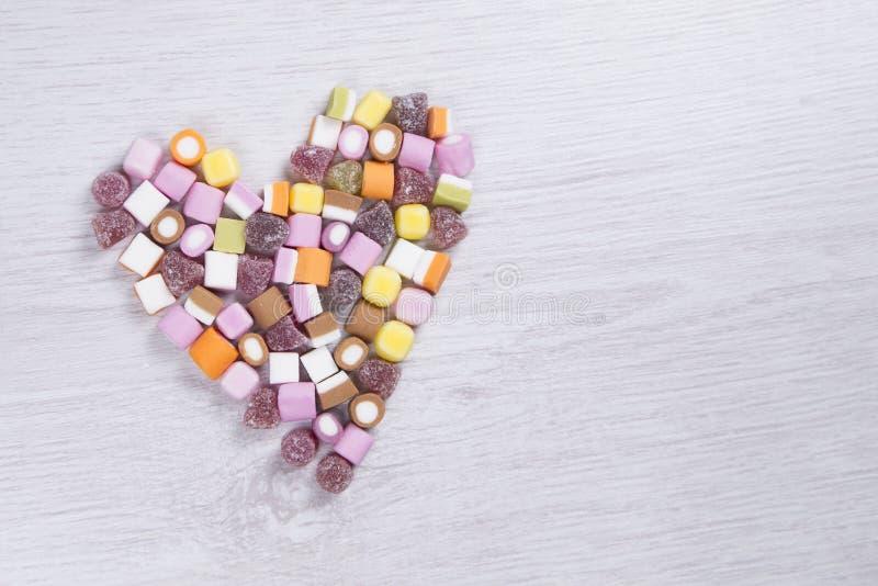 De liefde van snoepjes stock foto