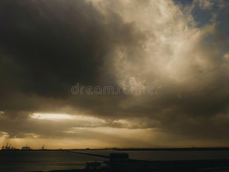 De liefde van zonsopgang stock foto's