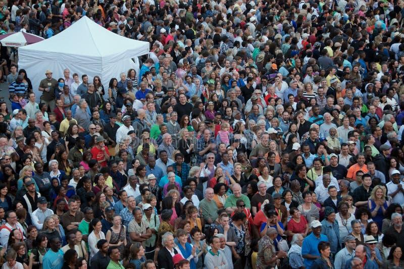 De liefdes Toronto Jazz Fest van Toronto royalty-vrije stock foto