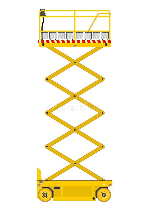 De lift van de schaar vector illustratie