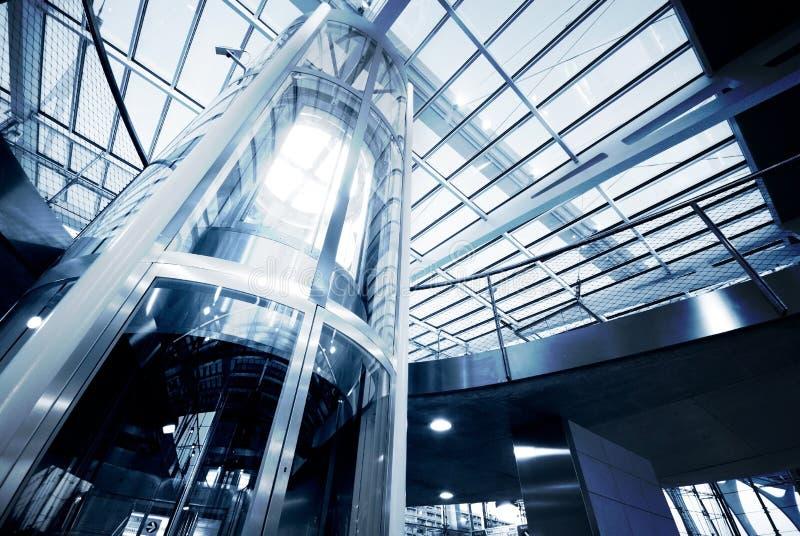 De lift van het glas