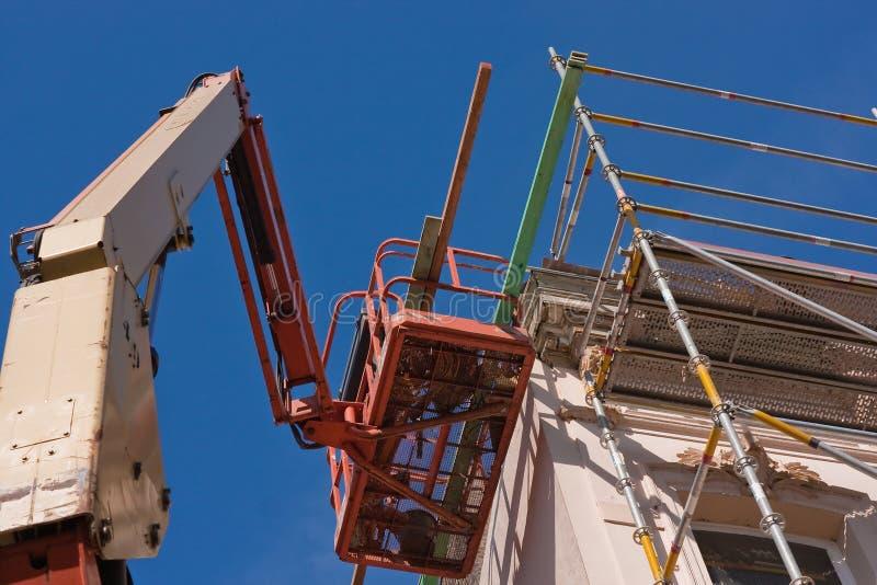 De lift van het platform voor restauratie (3) royalty-vrije stock afbeelding