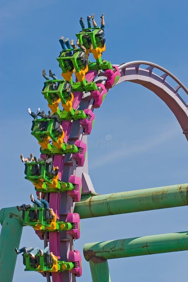 De Lijn van de achtbaan stock foto