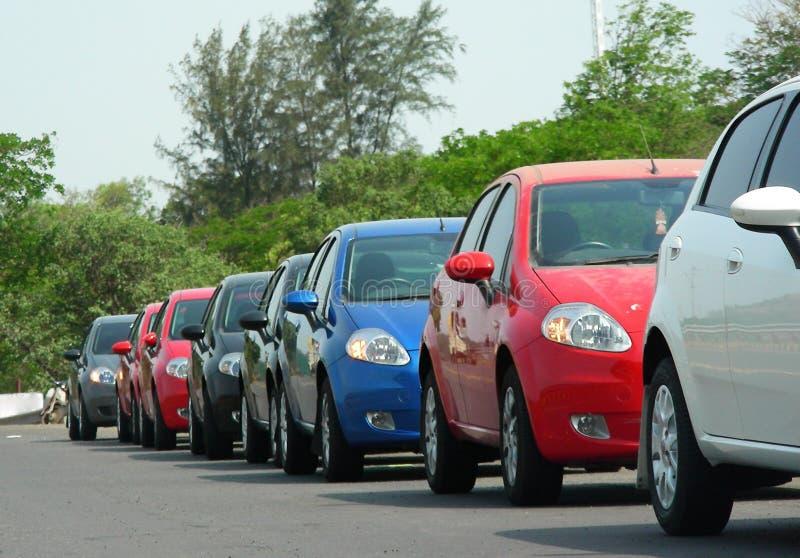 De Lijn van de auto royalty-vrije stock foto