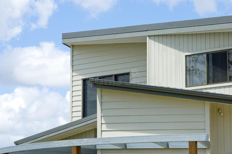 De Lijn van het dak stock fotografie
