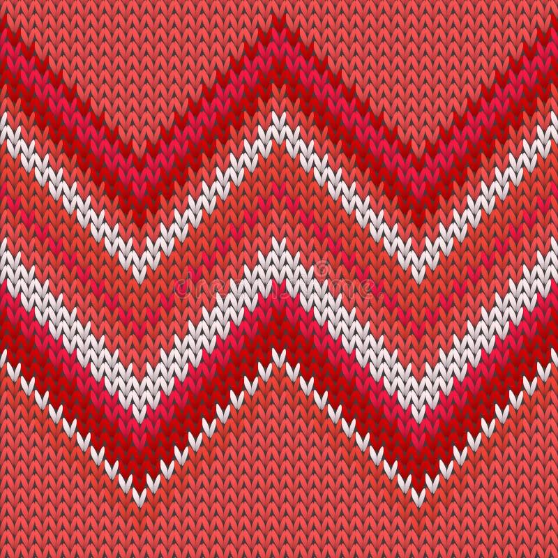 De lijnen van breintextuur van Handicraft-zig-zal-lijnen stock illustratie