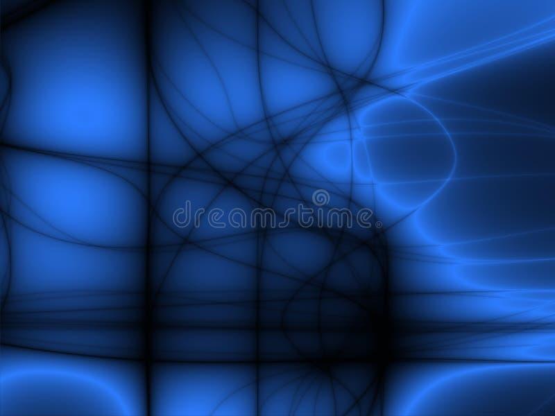 De lijnen van de gloed stock illustratie
