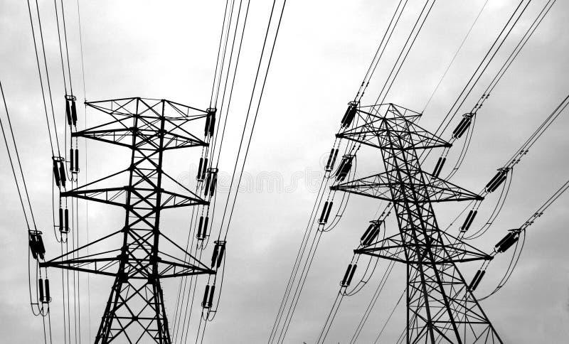 De Lijnen Van De Macht Royalty-vrije Stock Fotografie