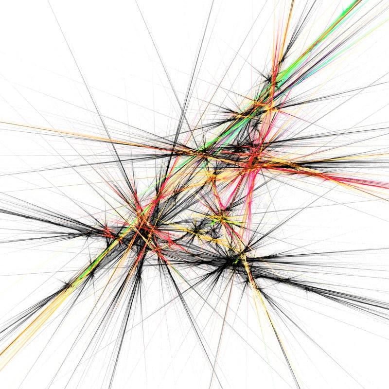 De lijnen van de meetkunde vector illustratie