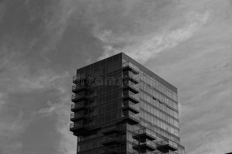 De lijnen van Rotterdam royalty-vrije stock foto's