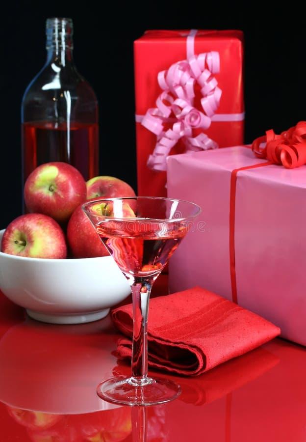De Lijst van de cocktail party stock foto's