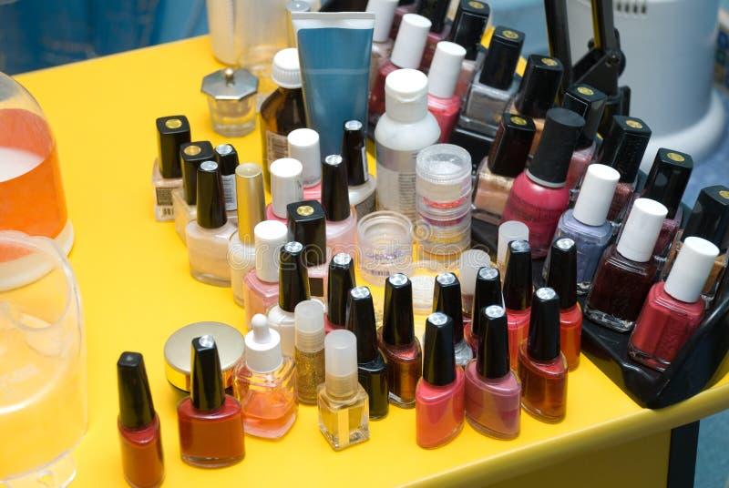 De lijst van de manicure royalty-vrije stock foto's
