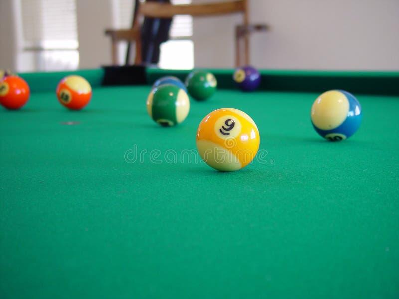 De lijst van de pool royalty-vrije stock afbeelding