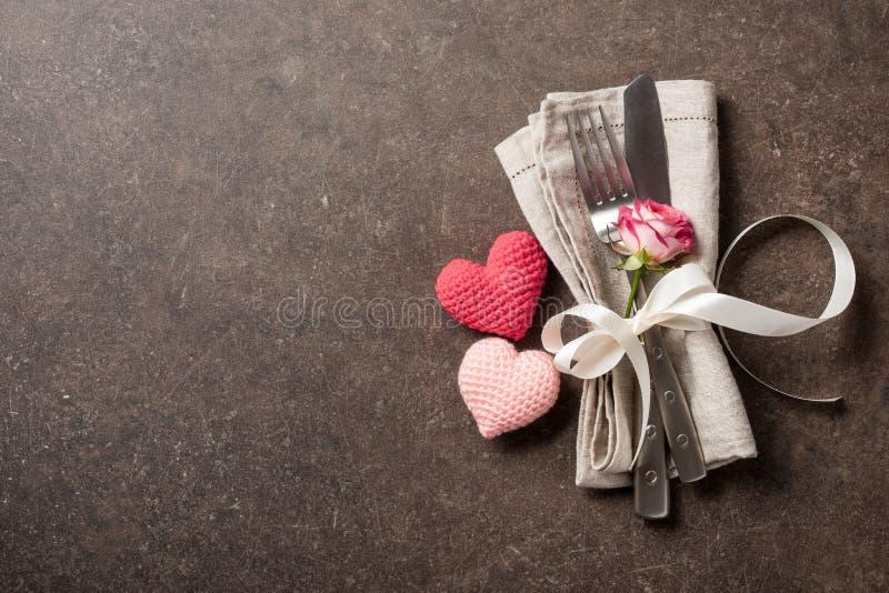 De lijst van de valentijnskaartendag het plaatsen royalty-vrije stock fotografie