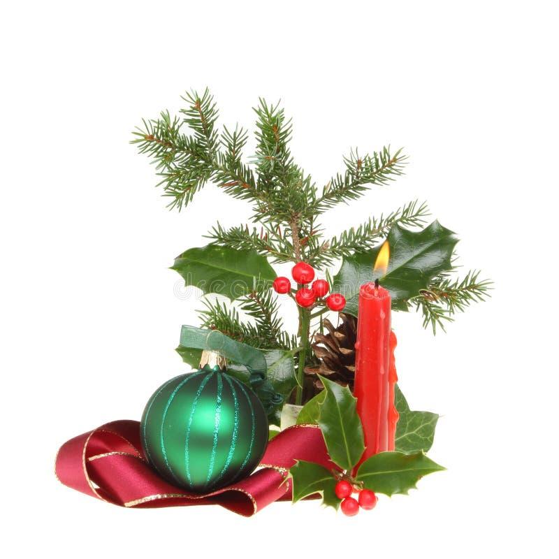 De lijstdecoratie van Kerstmis royalty-vrije stock afbeeldingen