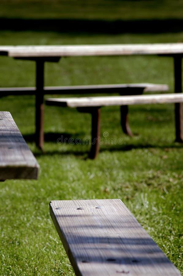 De Lijsten van de picknick royalty-vrije stock fotografie