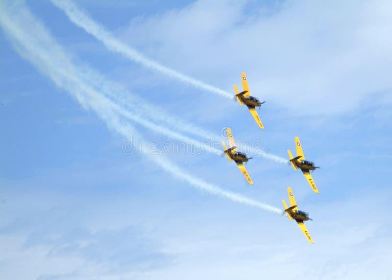 De Lima Lima Air-Groep presteert bij een lucht toont stock fotografie