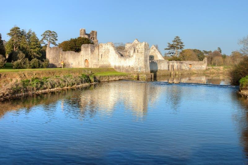De Limerick van Co. van het Kasteel van Adare - Ierland. stock afbeeldingen