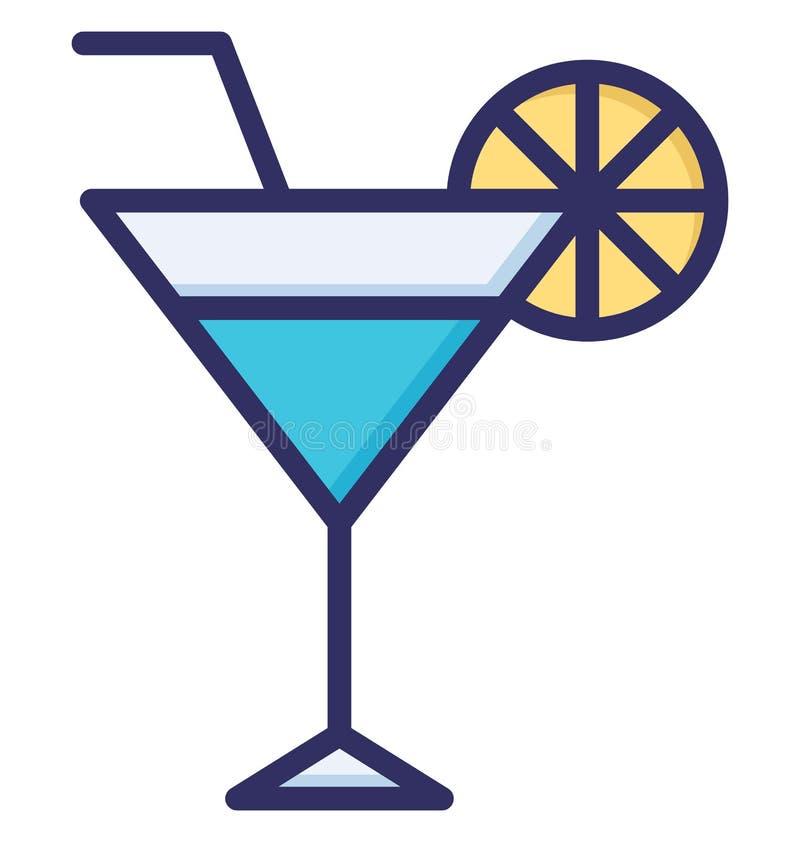 De limonade, Alcohol isoleerde Vectorpictogram dat gemakkelijk kan worden gewijzigd of worden uitgegeven royalty-vrije illustratie