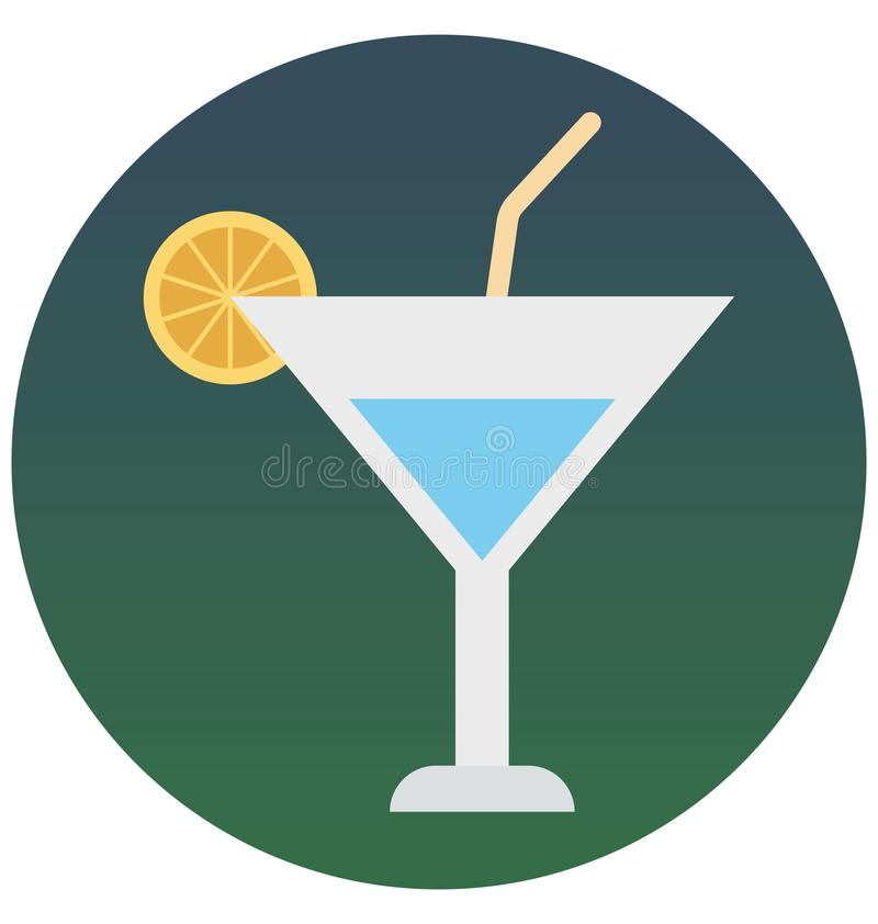 De limonade isoleerde vectorpictogram dat gemakkelijk kan zijn uitgeeft of wijzigde zich stock illustratie