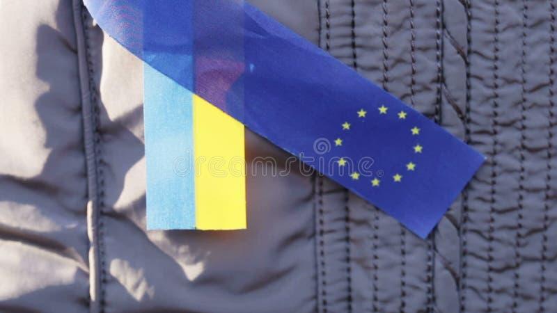 De linteneu en de Oekraïne stock footage