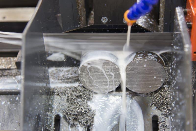 De lintzaagmachine stock afbeelding