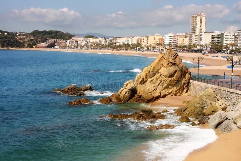de lloret χαλά την Ισπανία στοκ φωτογραφία