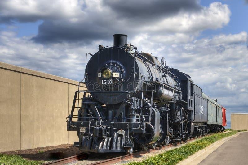 Download De Locomotief van de stoom stock foto. Afbeelding bestaande uit muur - 10777356