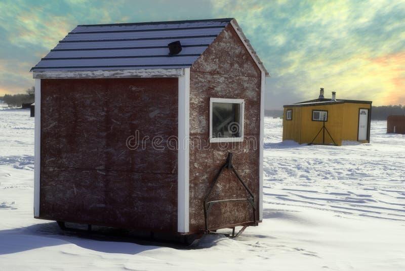 De Loods van het ijs stock foto's