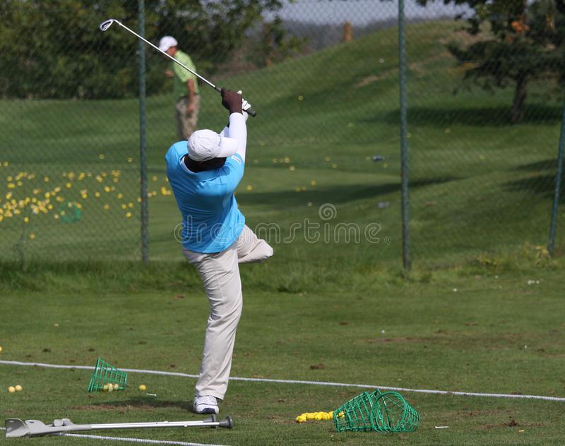 Download De Los Santos At The Golf Open De Paris 2009 Editorial Stock Image - Image: 11123339