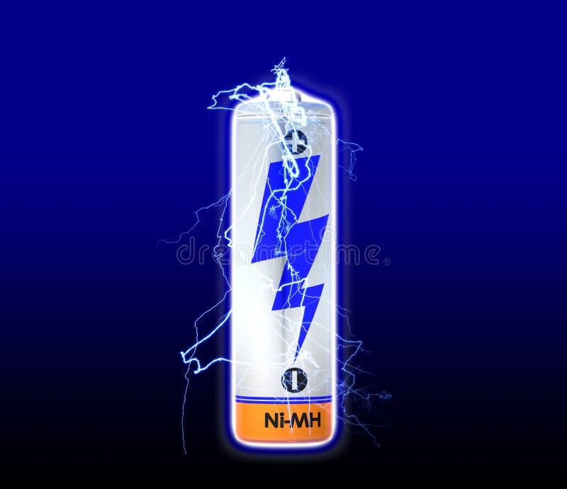 De Lossing van de batterij stock illustratie