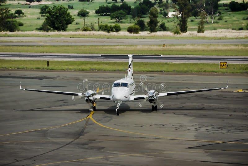 De Lucht van de Koning van Beechcraft 350B stock foto's
