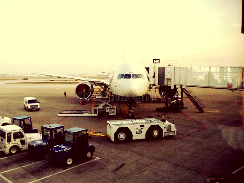 De Luchthaven van Atlanta stock foto's