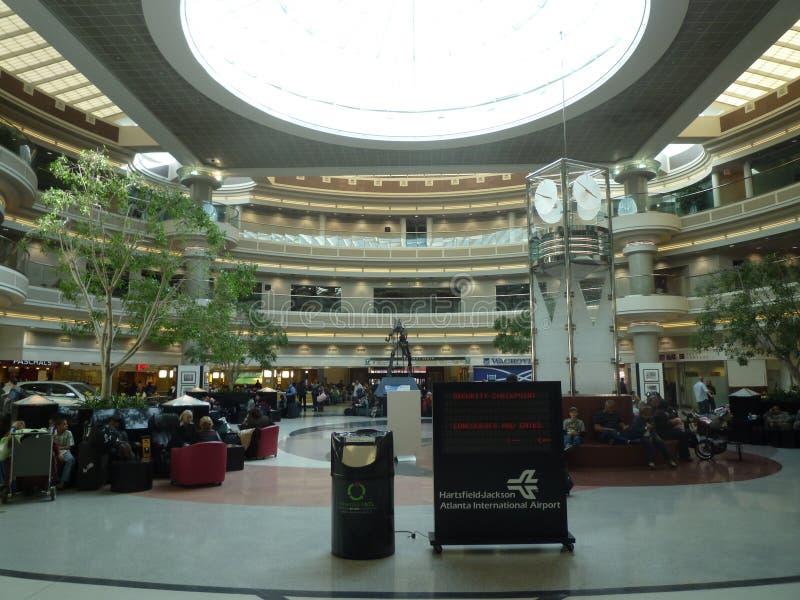 De luchthaven van Atlanta stock afbeelding