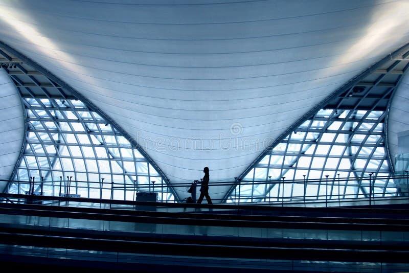 De Luchthaven van Bangkok royalty-vrije stock foto's