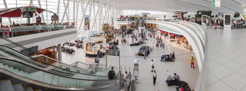 De Luchthaven van Boedapest royalty-vrije stock afbeelding