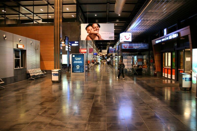De Luchthaven van Brussel Charleroi royalty-vrije stock fotografie