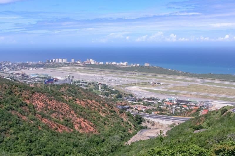 De luchthaven van Caracas stock foto's