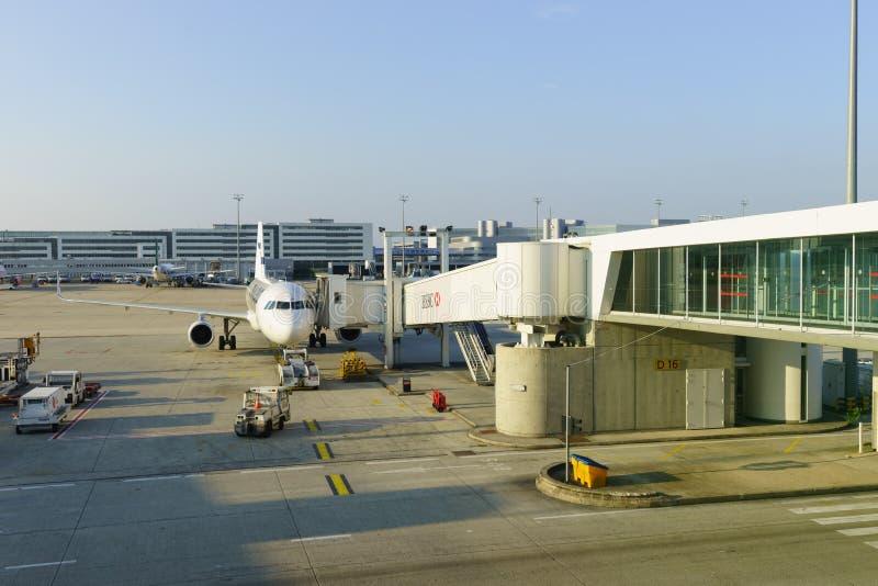 De Luchthaven van Charles de Gaulle royalty-vrije stock foto