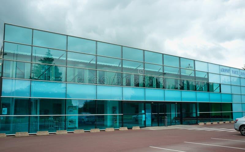 De luchthaven van Chateauroux - Frankrijk royalty-vrije stock foto's