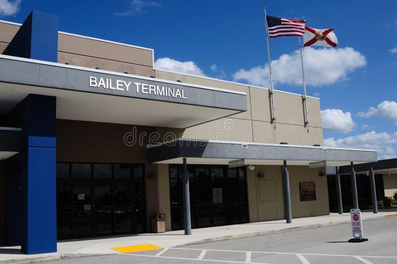 De Luchthaven van de Provincie van Charlotte royalty-vrije stock foto