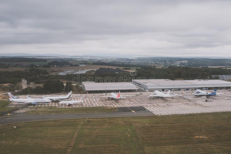 De luchthaven van Frankfurt Hahn royalty-vrije stock fotografie