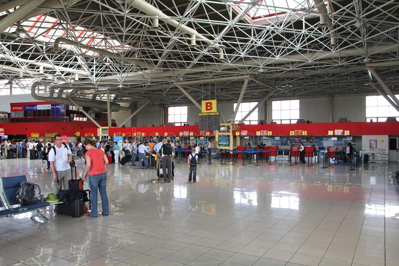 De Luchthaven van Havana, Cuba royalty-vrije stock foto's