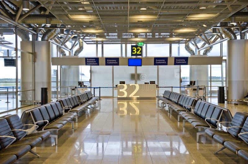 De Luchthaven van Helsinki royalty-vrije stock afbeelding