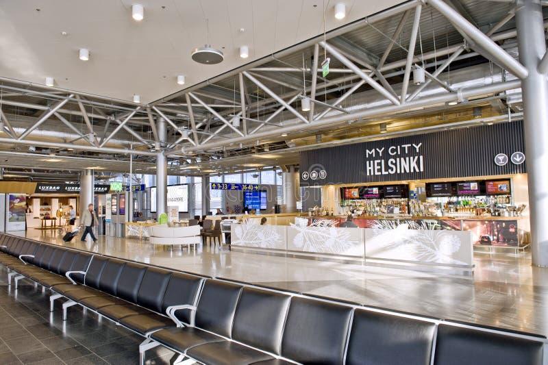 De Luchthaven van Helsinki royalty-vrije stock afbeeldingen