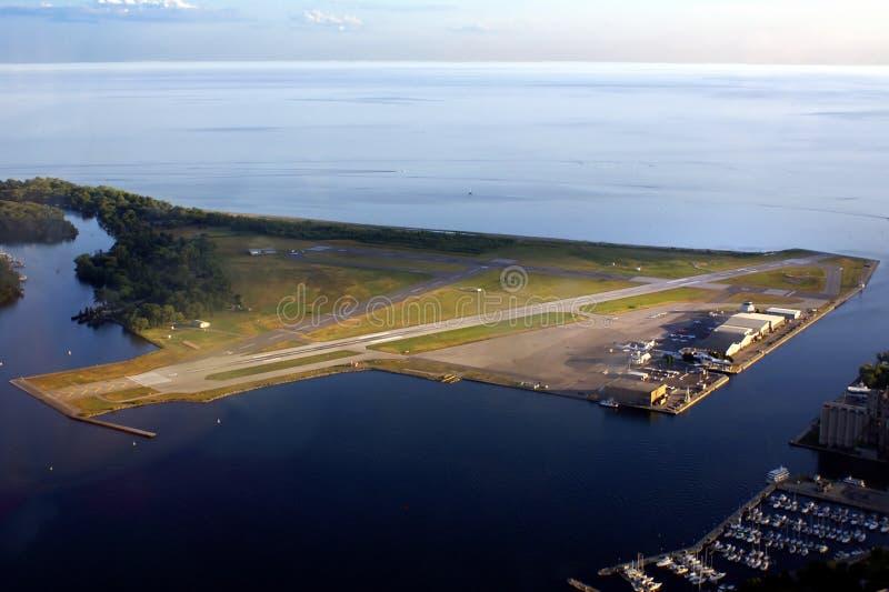 De Luchthaven van het Eiland van Toronto royalty-vrije stock fotografie