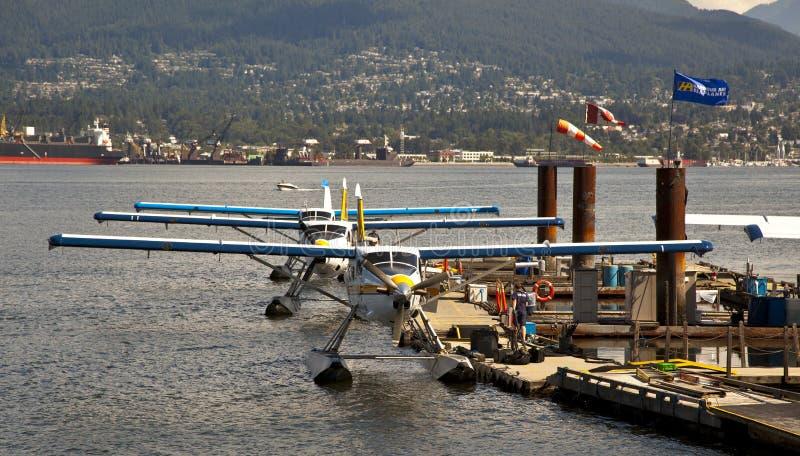 De Luchthaven van het Water van de Haven van Vancouver royalty-vrije stock afbeeldingen