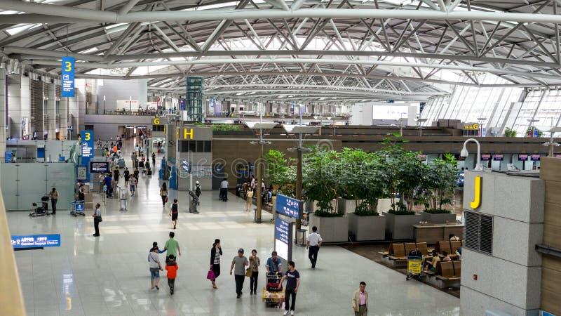De luchthaven van Incheon van Soeul royalty-vrije stock afbeelding